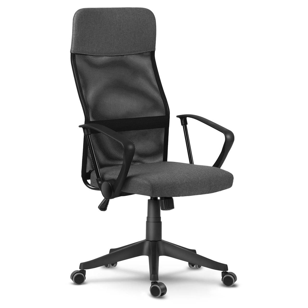 Офісне крісло з мікросітки Sofotel Sydney Чорне