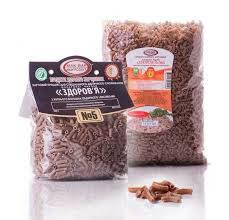 Макароны Здоровье №5 органические с рожью и отрубями 0.5 кг