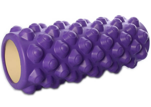 Массажный ролл Profi (0857-5F) 33х14 см. Фиолетовый, фото 2