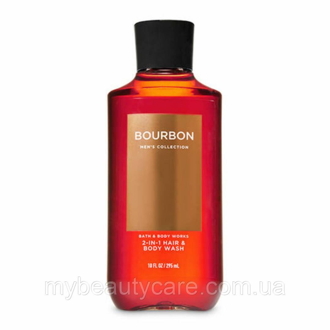 Мужской гель для душа и шампунь Bath and Body Works Bourbon