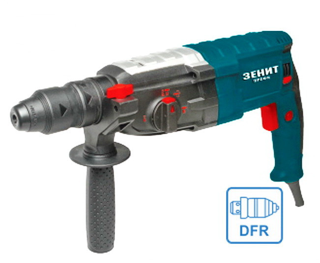 Перфоратор электрический Зенит ЗПП-1200/2 DFR Профи (сменный патрон)