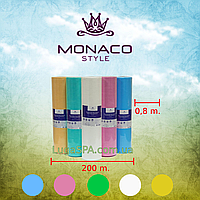 "Простыни ""Monaco Style"" спанбонд 0,8х1,8м (100 шт.) с перфорацией"