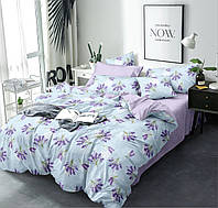 Двуспальный комплект постельного белья евро 200*220 хлопок  (15149) TM KRISPOL Украина