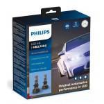 Лампы светодиодные PHILIPS LED HB3/HB4 Ultinon Pro9000 + 250% 12/24V 20W (2 шт)