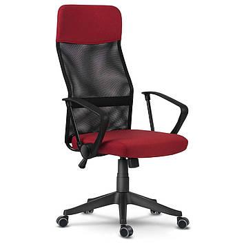 Крісло Офісне з мікросітки Червоне Sofotel Sydney