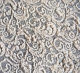 Чехлы на диваны и кресла универсальные Песочный жаккардовые без оборки Турция., фото 8