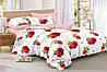 Двуспальный комплект постельного белья 180*220 сатин (15603) TM КРИСПОЛ Украина
