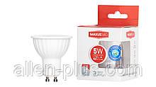 LED лампа MAXUS 1-LED-516 MR16 5W GU10 4100K 175-220V