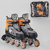 Ролики BEST ROLLER 3285-L 38-42 оранжевый, фото 1