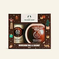 Набор The Body Shop Nourishing shea & coconut