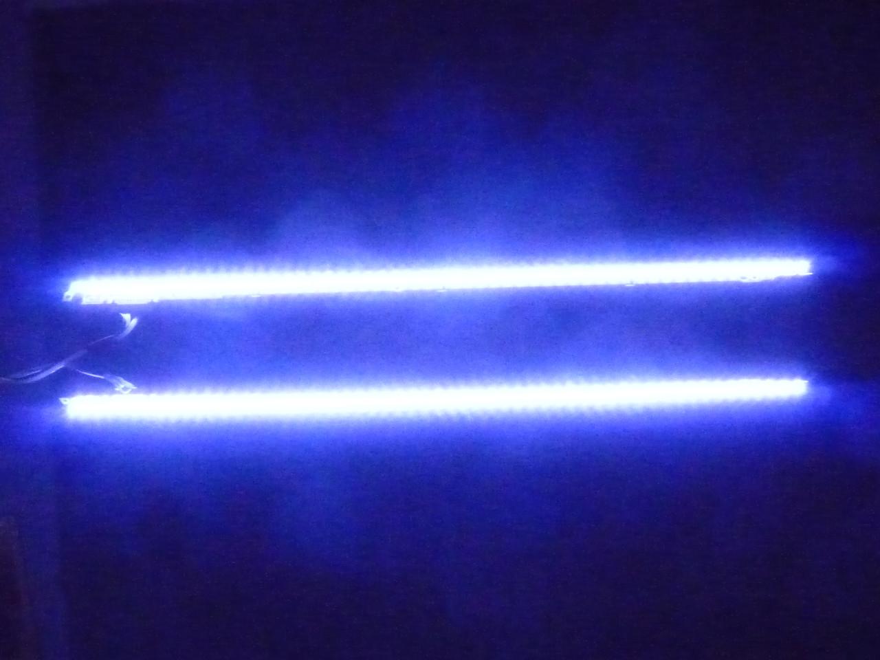 2 модуля подсветки  V1LE-400SM(A_B)-R3[12,01,04] 40SNB 3D-7032LED-MCPCB-(L_R) (матрица LTJ400HL08-L).