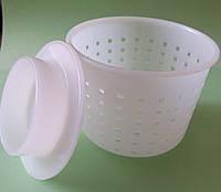 Форма с поршнем для мягкого сыра 0,25-0,4 кг, фото 1