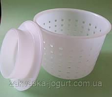 Форма с поршнем для мягкого сыра 0,25-0,4 кг