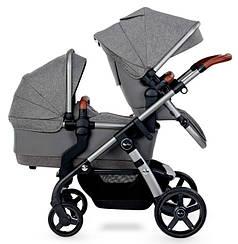 Детская коляска для двойни 2 в 1 Silver Cross Wave 2020