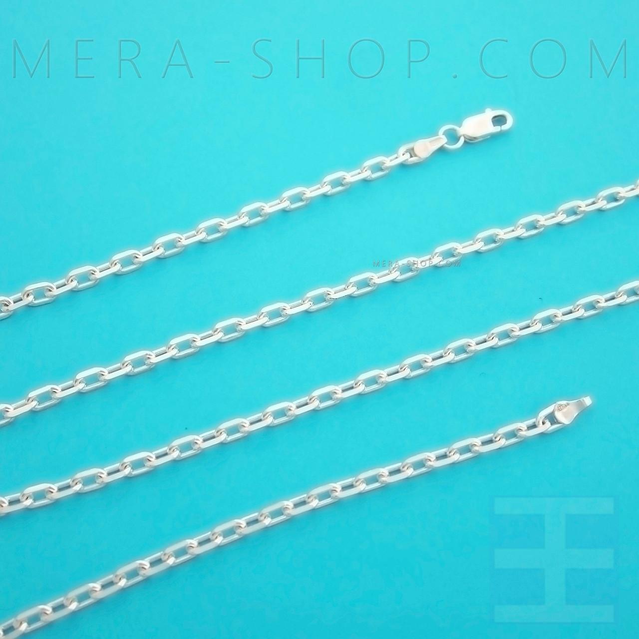 """Серебряная цепочка плетение """"Якорная"""", цепь из серебра 925 пробы (40 см, 5 г)"""