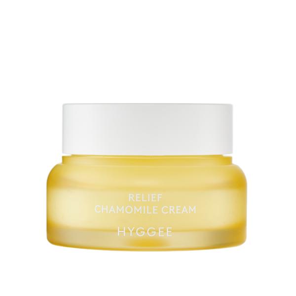 Лёгкий успокаивающий крем на основе Ромашки HYGGEE Relief Chamomile Cream 52 ml