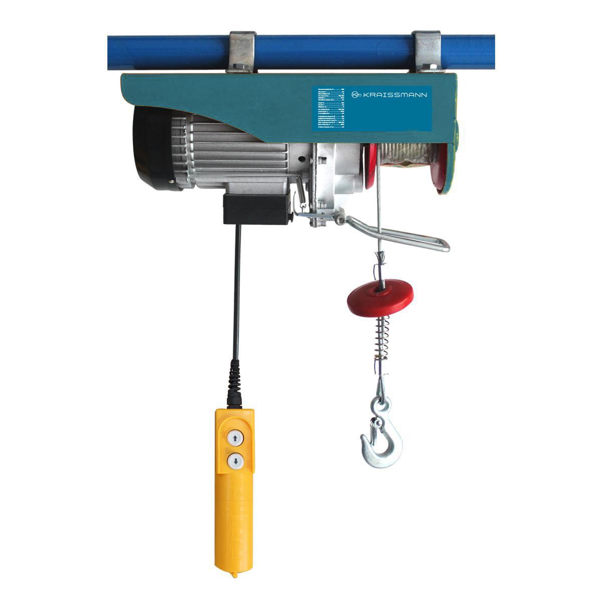 Тельфер электрический Kraissmann SH 250/500 (высота подъема 10м/20м)