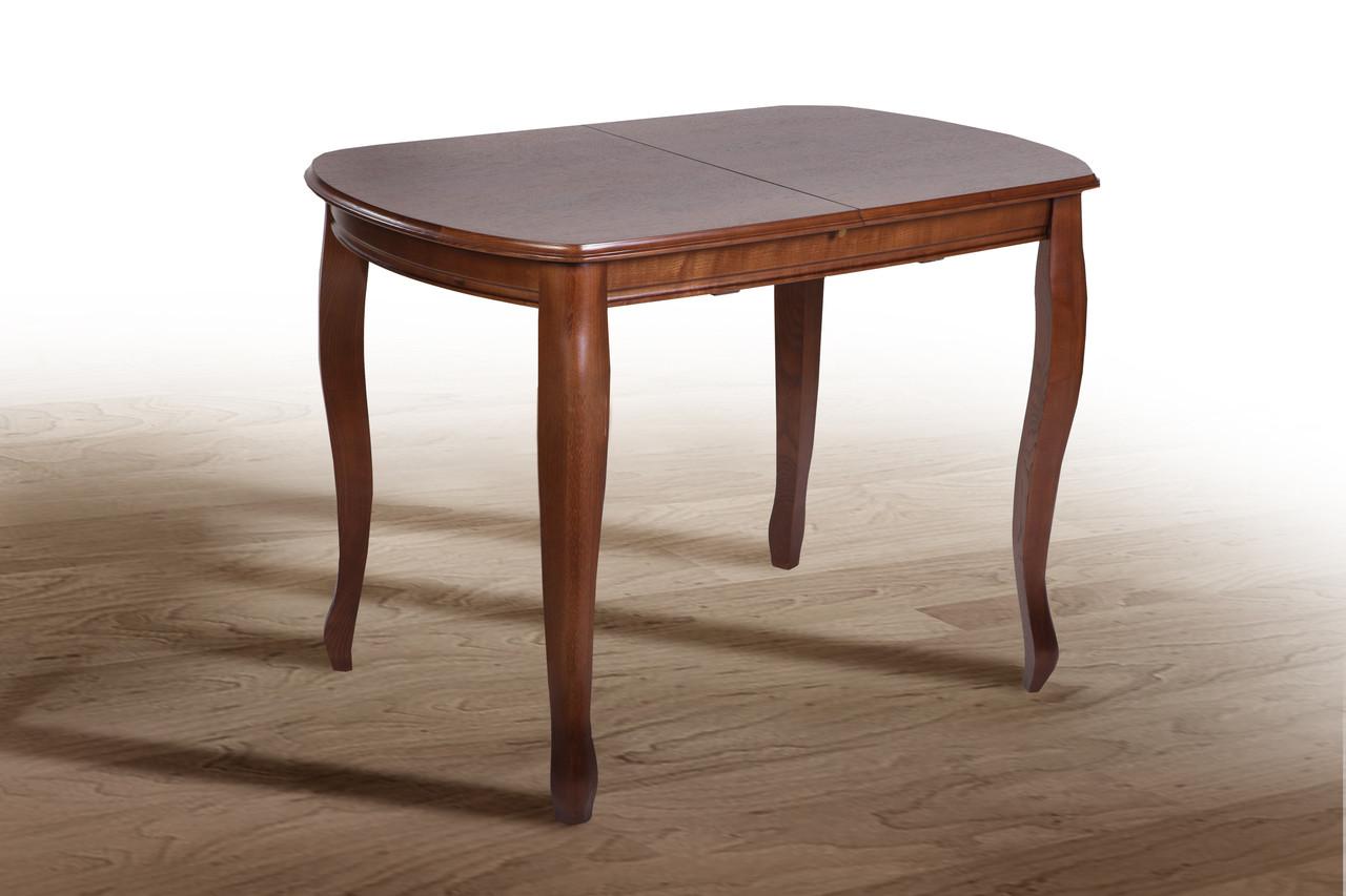 Стол обеденный Турин орех темный 120 см (Микс-Мебель ТМ)