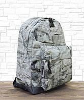 Рюкзак молодежный Wallaby серый (1353-джинс)