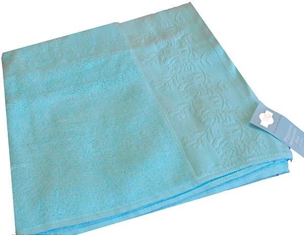 Махровое полотенце ТЕП Роуз (140х70), 100% хлопок.