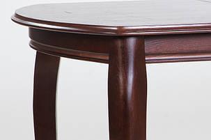 Стол обеденный Турин орех темный 120 см (Микс-Мебель ТМ), фото 2