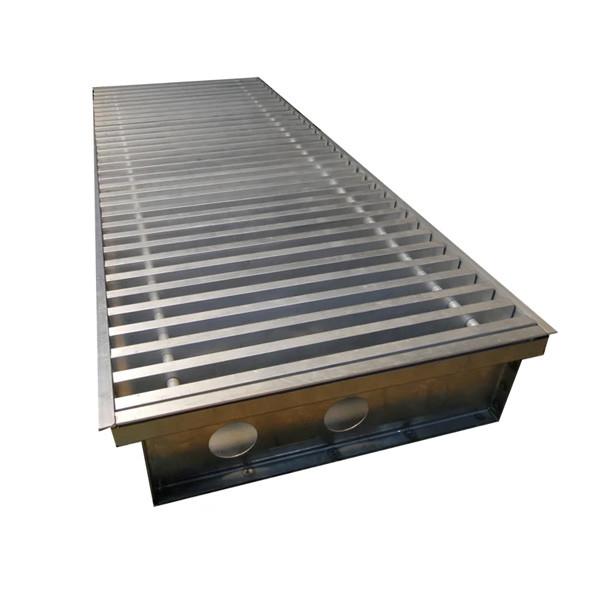 Внутрипольный конвектор Radopol KVK 10 250*1000