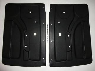 Обивка двери ВАЗ 21213 кожа формованная с карманами (к-кт 2 шт) ДЭЛ