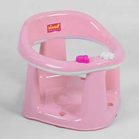 """Детское сиденье для купания на присосках BM-22305 PINK-LIGHT """"BIMBO"""" цвет СВЕТЛО-РОЗОВЫЙ, в коробке"""