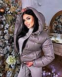 Куртка женская короткая из эко кожи, фото 2