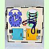 "Бизикуб 30*30*30 на ""Тучка"" 38 элементов - развивающий домик, бизиборд, бизидом, бизикубик, фото 5"