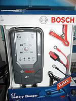 Автомобильное зарядное устройство Bosch C7, 018999907M, 12В 24В, 0 189 999 07M,, фото 1