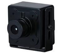 2 Мп Starlight HDCVI, CVBS, AHD, TVI миниатюрная видеокамера DH-HAC-HUM3201BP-B (2.8ММ)
