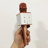 Микрофон Q-7 Wireless Rose. Цвет: розовый, фото 6