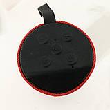 Колонка портативная bluetooth влагостойкая JBL TG-113 (аналог). Цвет: красный, фото 5