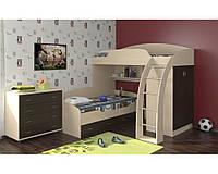 Кровать-чердак для двух детей КЧД 103