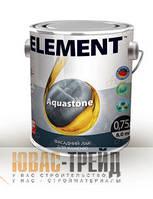 ELEMENT (ТМ Элемент) Aquastone Фасадный вододисперсионный акриловый лак 2,5 л
