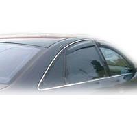 Дефлекторы окон (ветровики) HIC для Audi 100/A6 (4A.C4) Sedan 1990-1997 (AU19)
