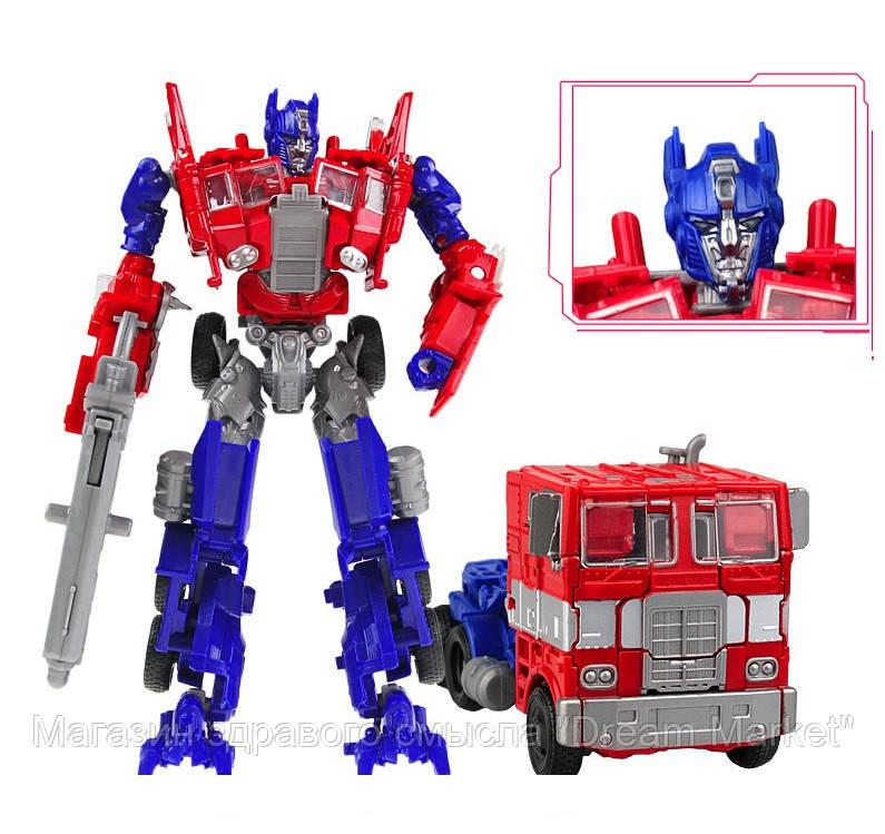 Игрушка для мальчиков Робот-Трансформер Оптимус Прайм Деформация 18 см - Optimus Prime, TF4, Deformation,