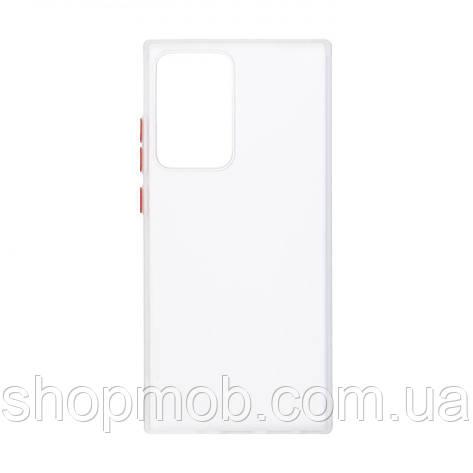 Чехол Totu Copy Gingle Series for Samsung Note 20 Ultra Цвет Белый, фото 2