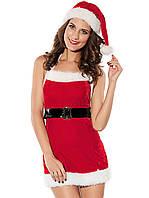 Новогоднее платье снегурочки для девушки