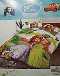 Комплект постельного белья детский  полуторный размер  для девочки Байка ( Фланель), фото 8