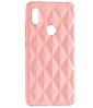 Чехол силиконовый Baseus Rhombus Case Xiaomi Redmi Note 5 / 5 Pro Pink