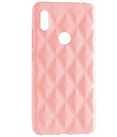 Чехол силиконовый Baseus Rhombus Case Xiaomi Redmi Note 5 / 5 Pro Pink, фото 1