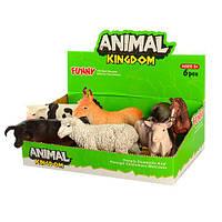 """Дитяча іграшка """"Домашні тварини"""" 6 тварин в наборі"""