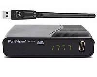 Т2 ресивер World Vision T624D3 Internet + Wi-Fi адаптер, фото 1