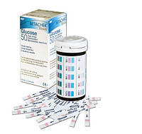 Визуальные Тест-полоски BETACHEK  (СРОК ГОДНОСТИ до 10.2018) для определения уровня глюкозы БЕЗ ПРИБОРА