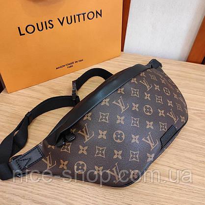 Напоясная сумка-бананка Louis Vuitton кожа maxi, фото 2