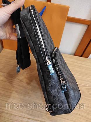 Сумка-слинг Louis Vuitton кожа, фото 3