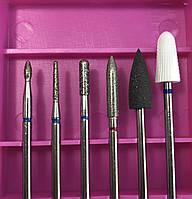 Фрезы для маникюра педикюра набор для ногтей насадки для аппаратов маникюра педикюра 9-7