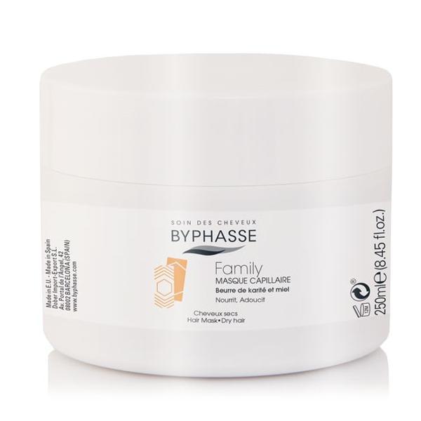 Byphasse Family Hair Mask Shea Butter And Honey Маска для волос для всей семьи маска 250 мл